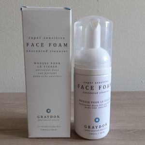 Graydon Super Sensitive Face Foam Unscented